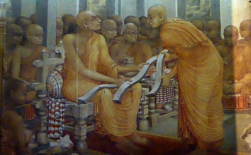 Theravada Buddhism was almost Messianic for at least 800 Years.